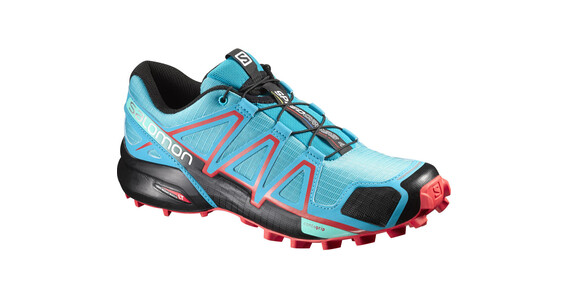 Salomon W's Speedcross 4 Shoes Blue Jay/Black/Infrared